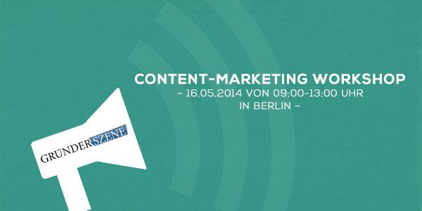 Content-Marketing Workshop mit MADD – für Gründer!