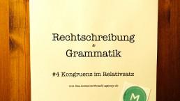 Rechtschreibung & Grammatik #4 –MADDazin
