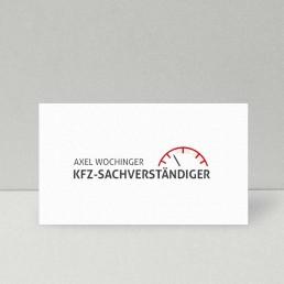 Logodesign Kfz-Sachverständiger Axel Wochinger