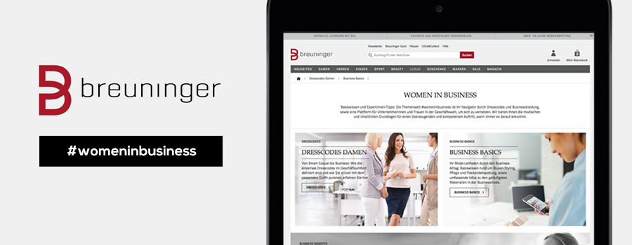 Preview Themenwelt Women in Business