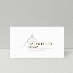 Logodesign Ratskeller Grimma –MADD Agency