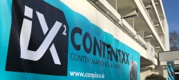 CONTENTIXX 2018 Banner im Hotel am Müggelsee